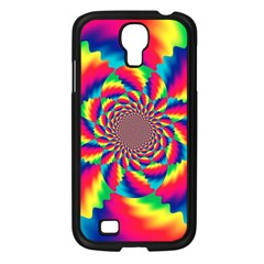 Colorful Psychedelic Art Background Samsung Galaxy S4 I9500/ I9505 Case (black) by Jojostore