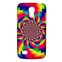 Colorful Psychedelic Art Background Samsung Galaxy S4 Mini (gt I9190) Hardshell Case