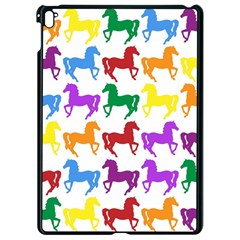 Colorful Horse Background Wallpaper Apple Ipad Pro 9 7   Black Seamless Case