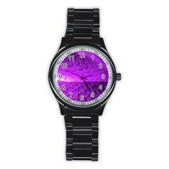 Circular Color Stainless Steel Round Watch by Jojostore