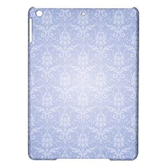 Damask Pattern Wallpaper Blue Ipad Air Hardshell Cases