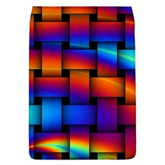 Rainbow Weaving Pattern Removable Flap Cover (l) by Jojostore