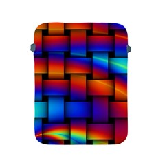 Rainbow Weaving Pattern Apple Ipad 2/3/4 Protective Soft Cases by Jojostore