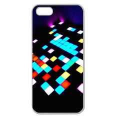 Dance Floor Apple Seamless Iphone 5 Case (clear) by Jojostore
