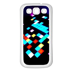 Dance Floor Samsung Galaxy S3 Back Case (white) by Jojostore