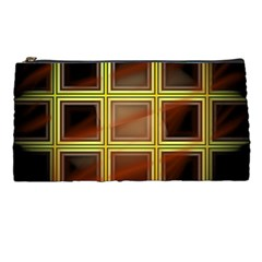 Drawing Of A Color Fractal Window Pencil Cases by Jojostore