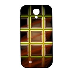 Drawing Of A Color Fractal Window Samsung Galaxy S4 I9500/i9505  Hardshell Back Case