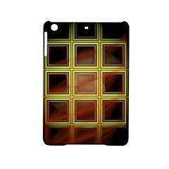Drawing Of A Color Fractal Window Ipad Mini 2 Hardshell Cases by Jojostore
