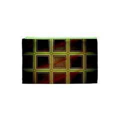 Drawing Of A Color Fractal Window Cosmetic Bag (xs)