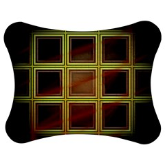 Drawing Of A Color Fractal Window Jigsaw Puzzle Photo Stand (bow) by Jojostore