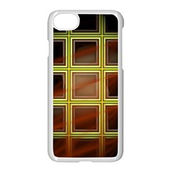 Drawing Of A Color Fractal Window Apple Iphone 8 Seamless Case (white) by Jojostore