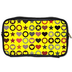 Heart Circle Star Seamless Pattern Toiletries Bag (two Sides)