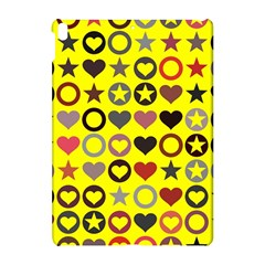 Heart Circle Star Seamless Pattern Apple Ipad Pro 10 5   Hardshell Case