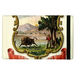 Historical Coat Of Arms Of Indiana Apple Ipad 2 Flip Case by abbeyz71