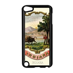 Historical Coat Of Arms Of Indiana Apple Ipod Touch 5 Case (black)