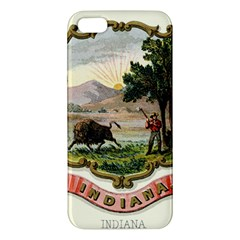 Historical Coat Of Arms Of Indiana Apple Iphone 5 Premium Hardshell Case by abbeyz71