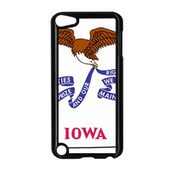 Flag Map Of Iowa Apple Ipod Touch 5 Case (black)