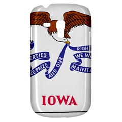 Flag Map Of Iowa Samsung Galaxy S3 Mini I8190 Hardshell Case