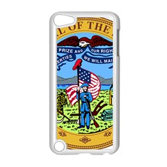 Great Seal Of Iowa Apple Ipod Touch 5 Case (white) by abbeyz71