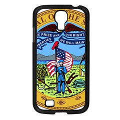 Great Seal Of Iowa Samsung Galaxy S4 I9500/ I9505 Case (black)