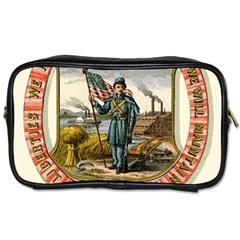 Historical Coat Of Arms Of Iowa Toiletries Bag (one Side) by abbeyz71