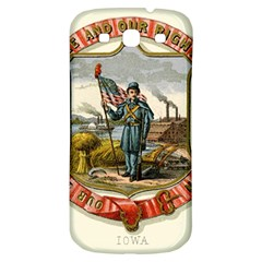 Historical Coat Of Arms Of Iowa Samsung Galaxy S3 S Iii Classic Hardshell Back Case