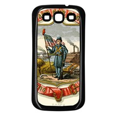 Historical Coat Of Arms Of Iowa Samsung Galaxy S3 Back Case (black)