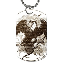 Coat Of Arms Of Iowa, 1861 1865 Dog Tag (one Side) by abbeyz71