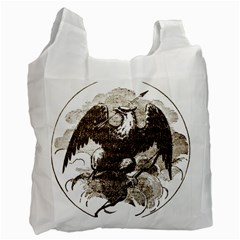 Coat Of Arms Of Iowa, 1861 1865 Recycle Bag (one Side) by abbeyz71