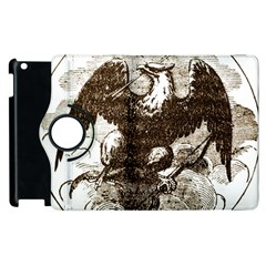 Coat Of Arms Of Iowa, 1861 1865 Apple Ipad 3/4 Flip 360 Case by abbeyz71