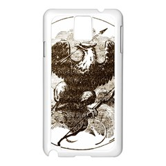 Coat Of Arms Of Iowa, 1861 1865 Samsung Galaxy Note 3 N9005 Case (white) by abbeyz71