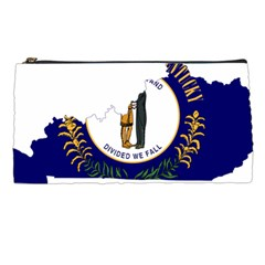 Flag Map Of Kentucky Pencil Cases by abbeyz71
