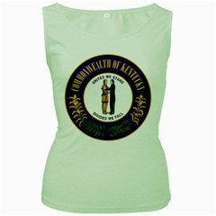 Great Seal Of Kentucky Women s Green Tank Top by abbeyz71