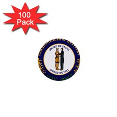 Great Seal Of Kentucky 1  Mini Buttons (100 Pack)  by abbeyz71