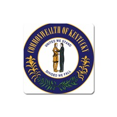 Great Seal Of Kentucky Square Magnet by abbeyz71