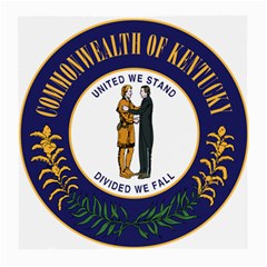 Great Seal Of Kentucky Medium Glasses Cloth (2 Side)