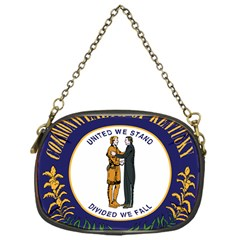 Great Seal Of Kentucky Chain Purse (one Side)