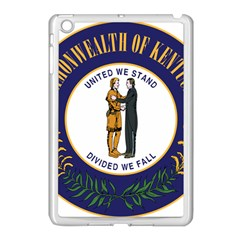 Great Seal Of Kentucky Apple Ipad Mini Case (white) by abbeyz71