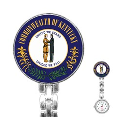 Great Seal Of Kentucky Stainless Steel Nurses Watch by abbeyz71