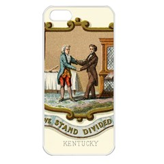 Historical Coat Of Arms Of Kentucky Apple Iphone 5 Seamless Case (white) by abbeyz71