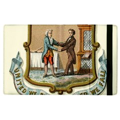 Historical Coat Of Arms Of Kentucky Apple Ipad 2 Flip Case