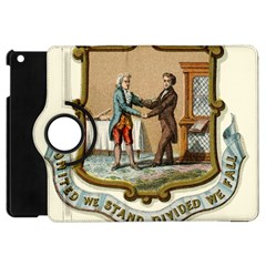 Historical Coat Of Arms Of Kentucky Apple Ipad Mini Flip 360 Case