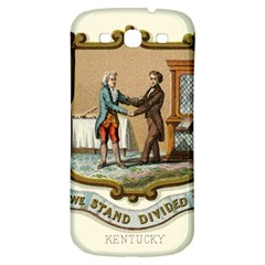 Historical Coat Of Arms Of Kentucky Samsung Galaxy S3 S Iii Classic Hardshell Back Case