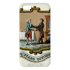 Historical Coat Of Arms Of Kentucky Iphone 5s/ Se Premium Hardshell Case