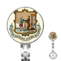 Historical Coat Of Arms Of Kentucky Stainless Steel Nurses Watch by abbeyz71