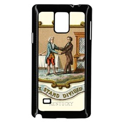 Historical Coat Of Arms Of Kentucky Samsung Galaxy Note 4 Case (black) by abbeyz71