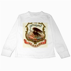 Historical Coat Of Arms Of Alabama Kids Long Sleeve T Shirts