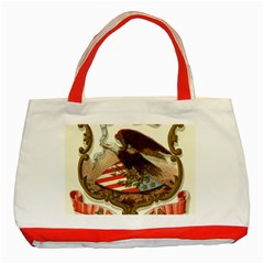 Historical Coat Of Arms Of Alabama Classic Tote Bag (red)