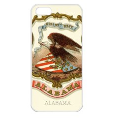 Historical Coat Of Arms Of Alabama Apple Iphone 5 Seamless Case (white) by abbeyz71
