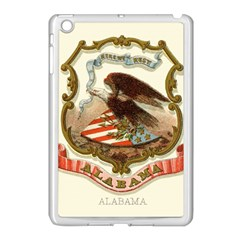 Historical Coat Of Arms Of Alabama Apple Ipad Mini Case (white)